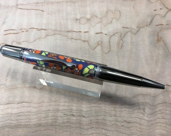 Handmad polymer clay twist inkpen by Speciality Turned Designs