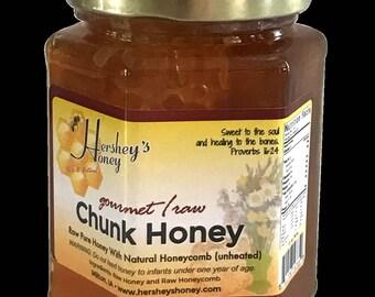 Chunk Honey Natural Raw Honey and Comb Healthy 13 oz.
