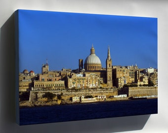 Canvas 24x36; Malta Mediterranean Sea Country