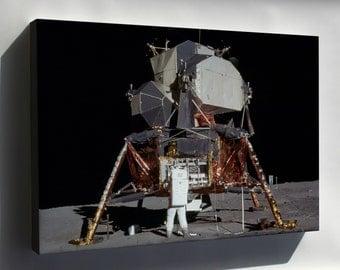 Canvas 16x24; Apollo 11 Lunar Lander - Copy