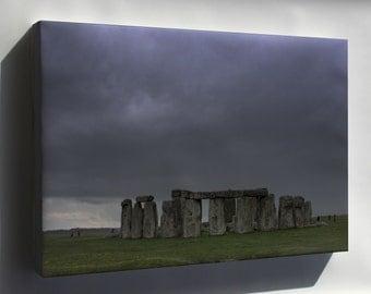 Canvas 16x24; Stonehenge 2007