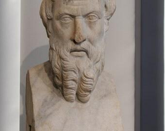 Canvas 16x24; Herodotos Met 91.8