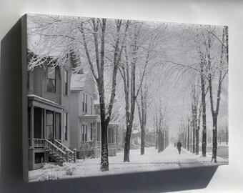 Canvas 16x24; A Winter Morning 4A18215A Original