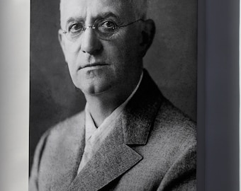 Canvas 16x24; George Eastman