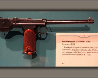 16x24 Poster; Borchardt Semi-Automatic Pistol, Germany, 1894