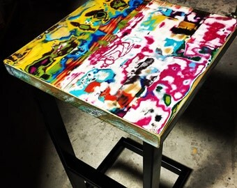 Colorful Barstool