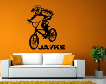Custom Bike Name Jayke Decal L865