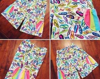 Rainbow Bubba 'Bubble Pocket' Shorts in Size 2