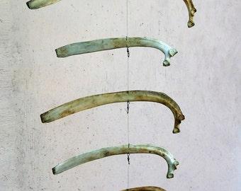 Deer Bone Wind Spinner - Deer Bone Mobile - Deer Bones - Deer Ribs - Whitetail Deer