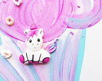 Macarons, French Macarons, Macaron, Custom Macarons, Macaron Party, Desserts, Hand Painted Macarons, Unicorn Party Idea, Unicorn Party Theme