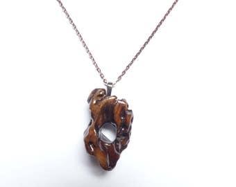 Porous Driftwood Pendant