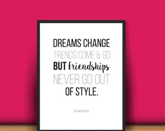 SATC Quote_friendship - digital download