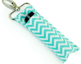Personalized Lipstick Holder Keychain