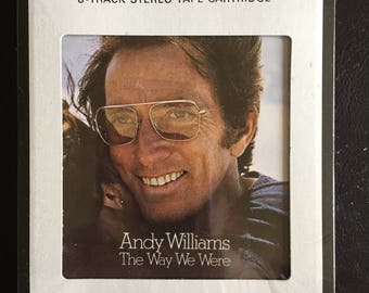 "Andy Williams ""The Way We Were"" 8-Track Stereo Track Cartridge - Columbia House - Never Opened NIP"