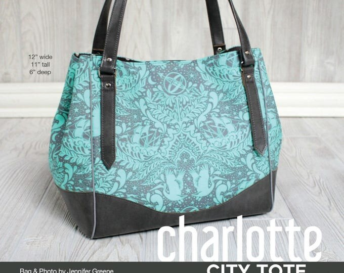 Charlotte City Tote - Swoon Patterns - Bag Pattern