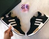 Swarovski Women's Adidas NMD Runner Casual Shoes