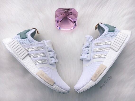 buy online 6c2f2 817af ... SALE SIZE 10 Swarovski Adidas NMD Runner Casual Shoes ...