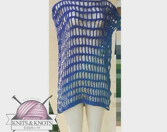 The Beachy Keen Cover Up, beach cover up, beachwear, crochet, summer fashion, swimsuit, swimwear, cover up