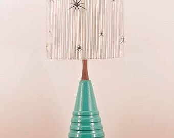 Ceramic Lamp and Shade 244