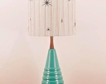 Ceramic Lamp and Shade 244