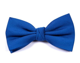 Matchimony Royal Blue Boy's Wedding Bow Tie available in 37 colours