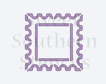 Large Stamp Cookie Stencil