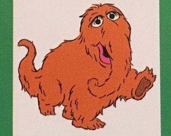 Mr. Snufflelupagus die cut from Sesame Street