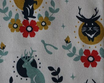 Organic jackalope shorts