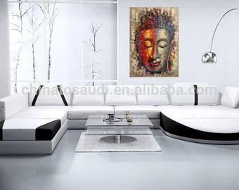 Buddha painting,oil painting of Buddha,Buddha painting by kampon