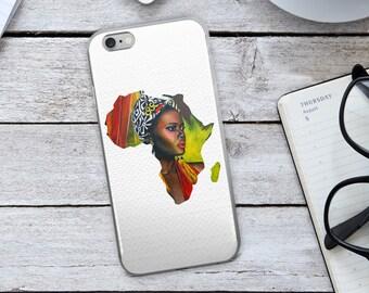 African Iphone Case - Africa Iphone Case - African Woman - African Art - Africa - African - Iphone 8 Case - Iphone 8 Plus Case - Iphone Case