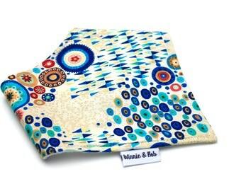 Bandana dribble bib -Klimt print bib - Baby Bandana - baby neckerchief - dribble bib - toddler