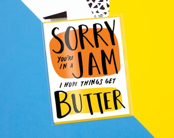 Sorry Jam Card
