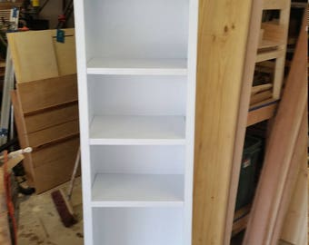 Bookcase, wood bookcase, white bookcase, bookshelves, bookshelf