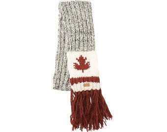 Maple Cabin Scarf, shawl, neck warmer, wrap