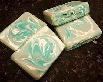 Teakwood Silk Home Made Artisan Soap Bar / Cold Process Soap / Silk Soap / Teakwood Soap / Home made soap/ Organic soap/ All natural