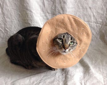 Bagel Costume for Cats