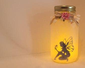 Fairy In A Jar Lantern