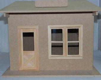 Dollhouse Miniature One Room Shop/Room Box Kit #TIM1000