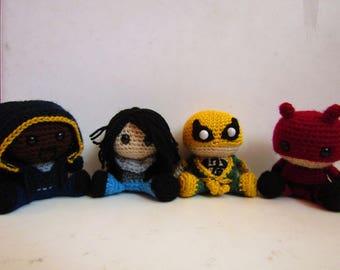 The Defenders Amigurumi