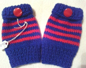 Boys fingerless gloves