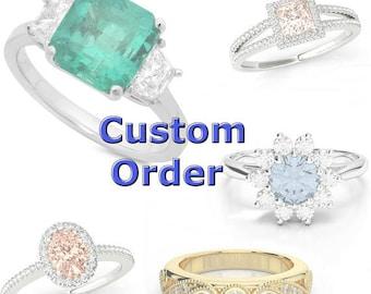 Custom Wedding Set for Lori R.