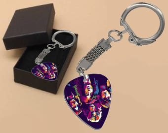 Led Zeppelin Keyring in Gift Box