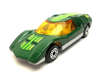 1970s Vintage Matchbox Superfast 66d Mazda 66d racing car Toy Collectible Made in England