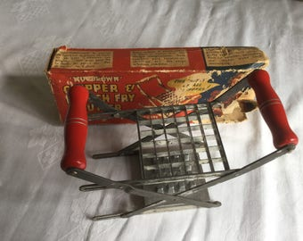 Vintage Nutbrown French Fry cutter