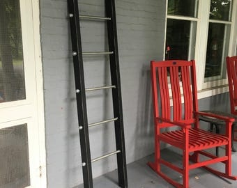 6ft x 19 inch Industrial Rustic ladders - Made in USA