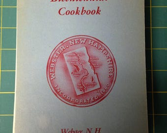 Webster, N.H. 1976 Bicentennial Cookbook