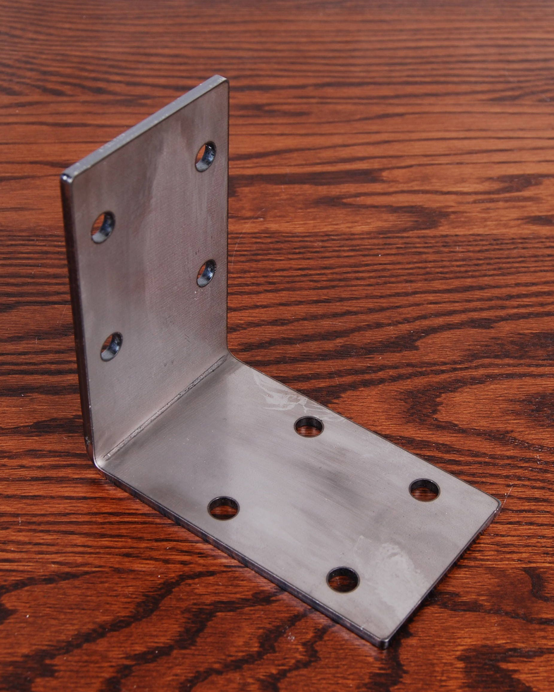 Pole Barn Post Brackets : Set of two deg angle support bracket for post and beam