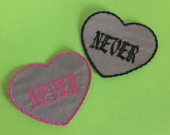 Never Heart Patch
