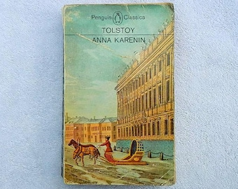 Vintage Tolstoy Anna Karenin Paperback Book