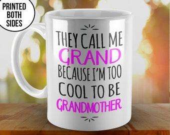 Mothers Day Gift Mug, Grand coffee mug, Grand Created Mug, Grandma Mug, Custom Coffee Mugs, Grand to be Mug, New Grand Mug, Coffee Mug